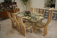 Dining Table and Chairs - Click to view larger photo